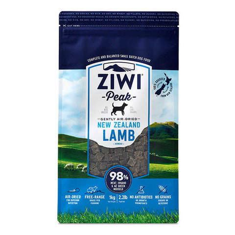 Ziwi Peak - Daily Dog Air Dried Lamb - 1kg