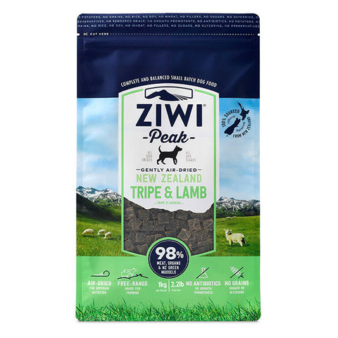 Ziwi Peak - Daily Dog Air Dried Tripe & Lamb - 1kg