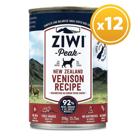 Ziwi Peak - Daily Dog Canned Venison 390g