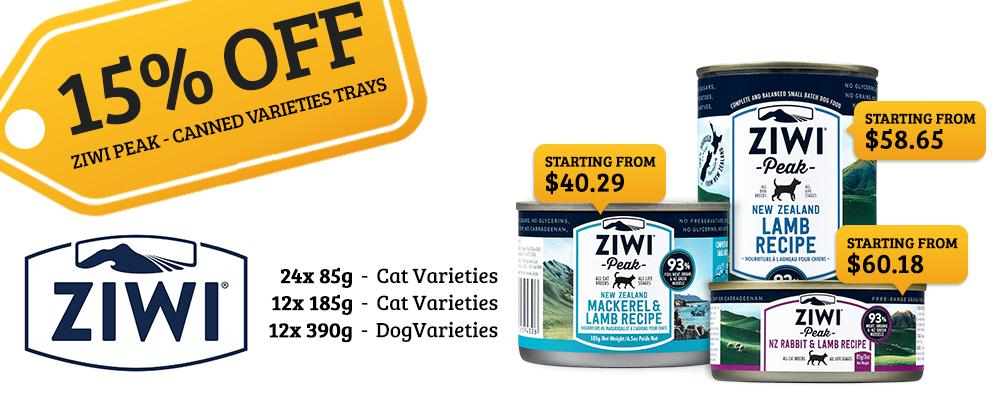 Ziwipeak dog and cat food