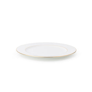The Allingham Gold Tableware Collection – Set of 6 Dinner Plates in Fine Bone China