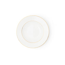 Load image into Gallery viewer, The Allingham Gold Tableware Collection – Set of 6 Soup Plates in Fine Bone China