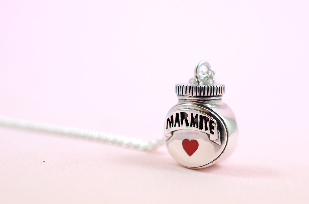 Bespoke Marmite Necklace