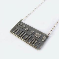 bespoke jewellery mini korg necklace