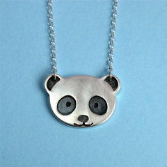 bespoke jewellery panda necklace
