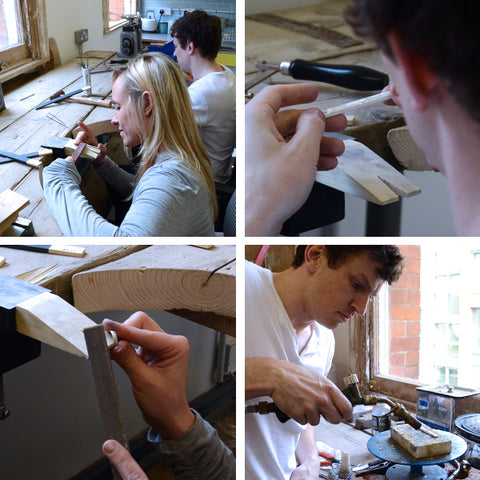 DIY wedding ring workshop