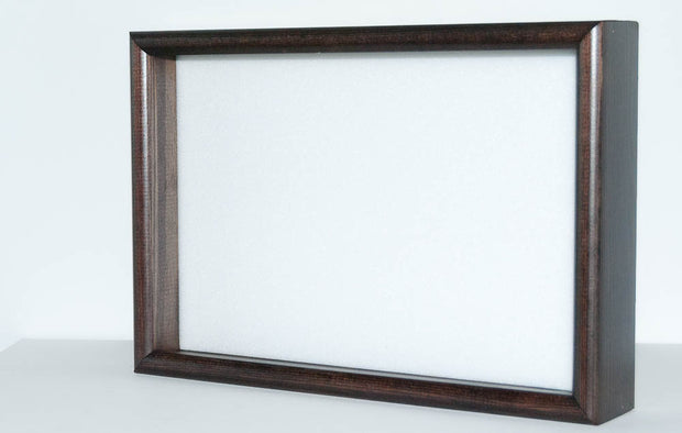 Lot of 3 Solid wood black Frames 21x30x5