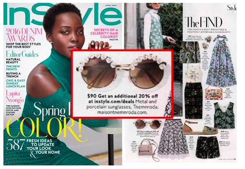 TNEMNRODA IN APRIL 2016 PEOPLE EN ESPANOL AND INSTYLE MAGAZINE
