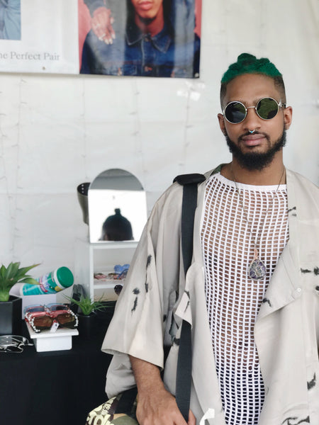 nroda eyewear at afropunk 2018