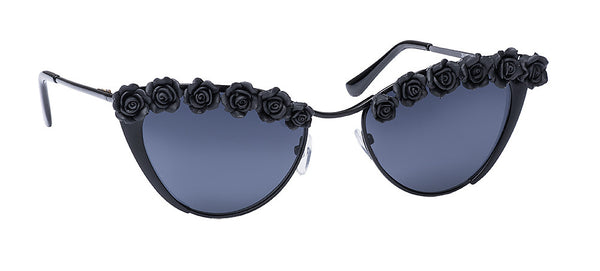 BLACK ROSE KITTY  SUNNIES + OPTICS TNEMNRODAsamplesale- NRODA