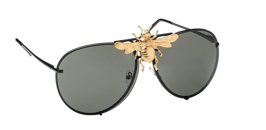 6d22cbf6f17 Snoop Dogg in the I ll Be Rich Forever Bee Sunglasses in Jet Luxe ...