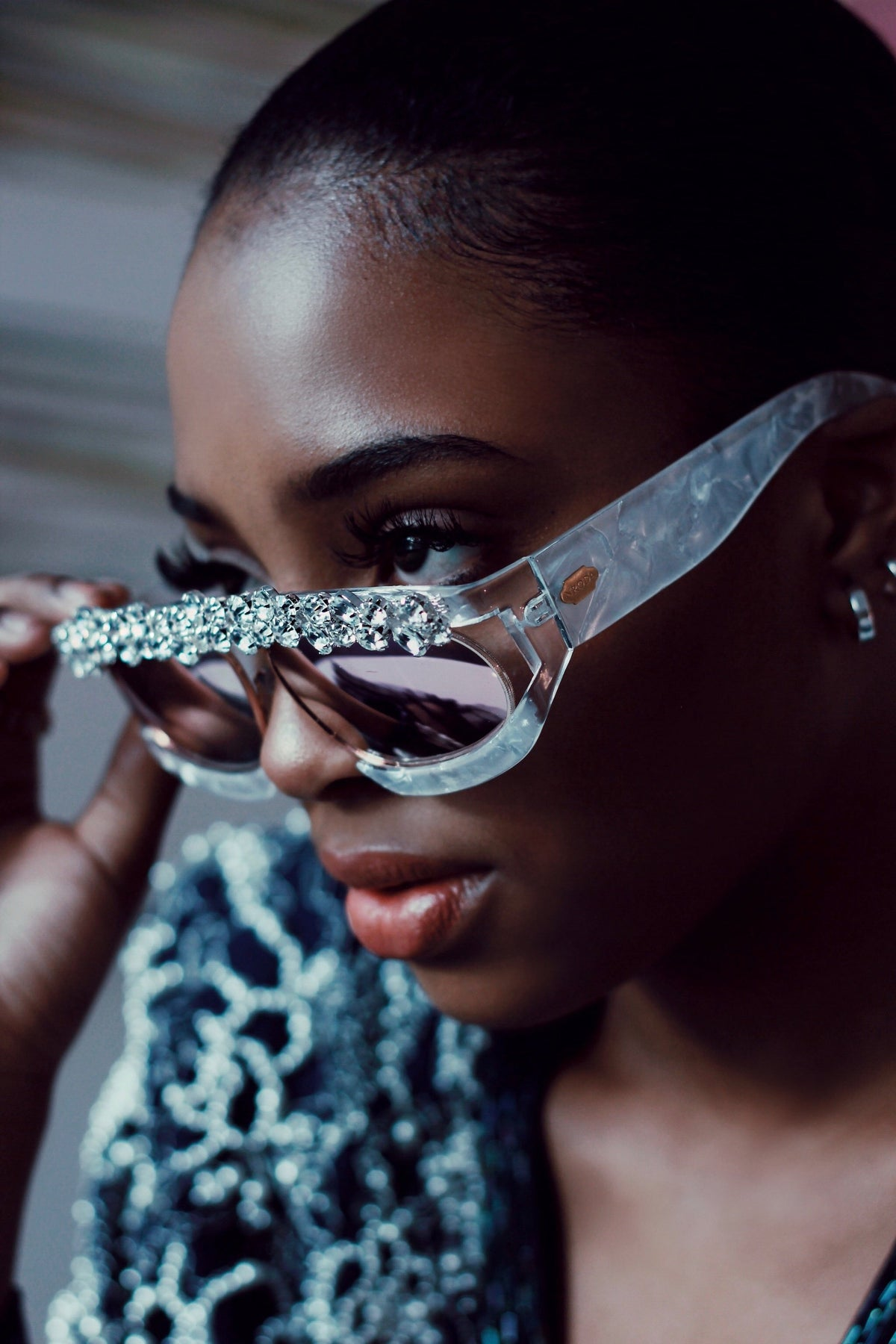 Dream In Diamonds  Eyewear Sunglasses Collection, Tnemnroda man- NRODA