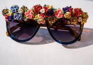 TNEMNRODA X CHARMSIE: FRIDA'S BLOOM SUNNIES  SUNNIES + OPTICS Sunglasses Collection- NRODA