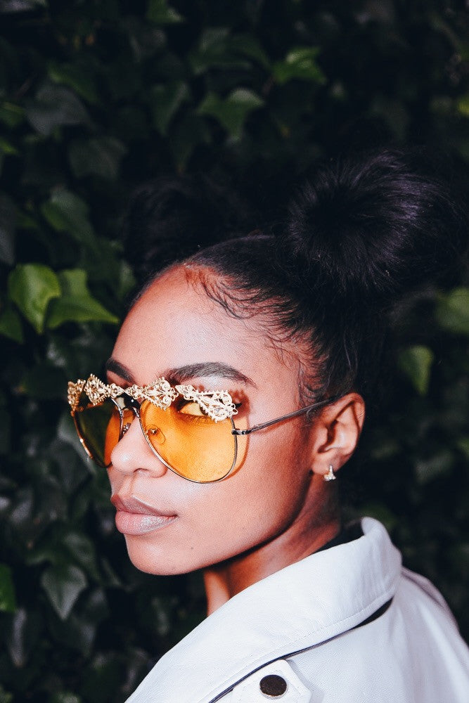Goal Digger Sunnies IN COCOA LENS