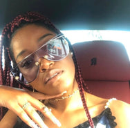 Keke Palmer in the At Your Best Sunnies  SUNNIES + OPTICS Sunglasses Collection, Tnemnroda man- NRODA
