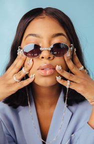 ICONIC VINTAGE SUNNIES: OVALIQUE.  SUNNIES + OPTICS Sunglasses Collection- NRODA