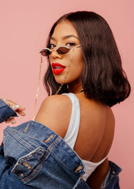 PEEPIN' YOU SUNNIES: BLACK OUT EDITION  SUNNIES + OPTICS Sunglasses Collection- NRODA