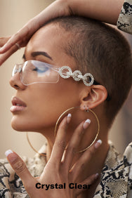 ONE IN A MILLION in Crystal Clear  SUNNIES + OPTICS Sunglasses Collection- NRODA