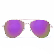 Mirror Mirror Aviators  SUNNIES + OPTICS Sunglasses Collection, nudes- NRODA
