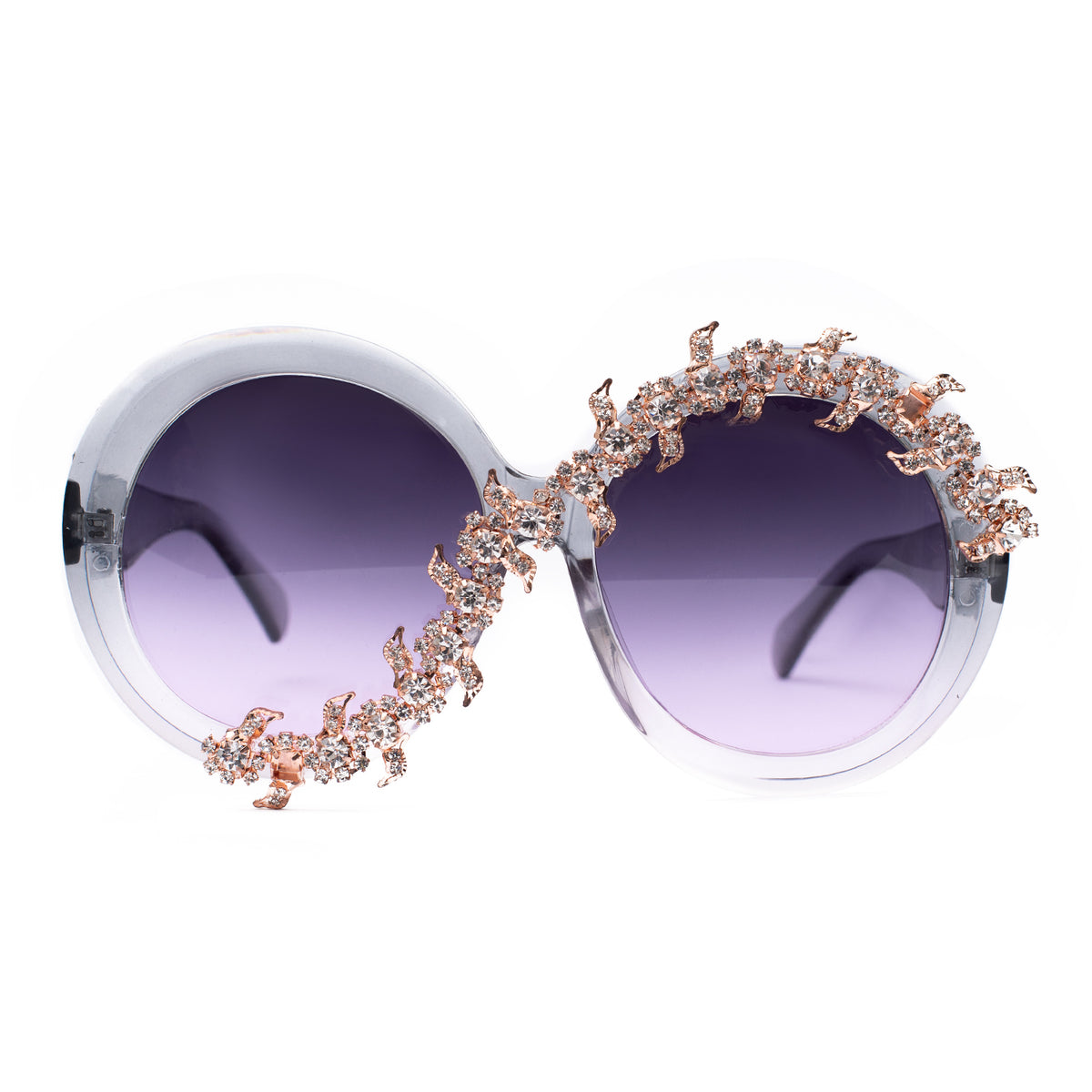 City of lights Ice gray glitz SUNNIES + OPTICS Sunglasses Collection- NRODA