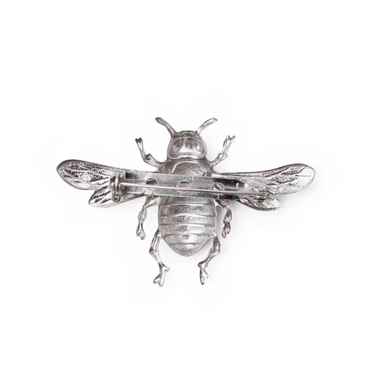 NRODA BEE PIN RHODIUM PLATED BEE PIN Head pieces TNEMNRODAaccessories- NRODA