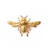 NRODA BEE PIN 24K GOLD PLATED BEE PIN Head pieces TNEMNRODAaccessories- NRODA