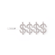 Money $$$$ Hair Crystal  Head pieces TNEMNRODAaccessories- NRODA