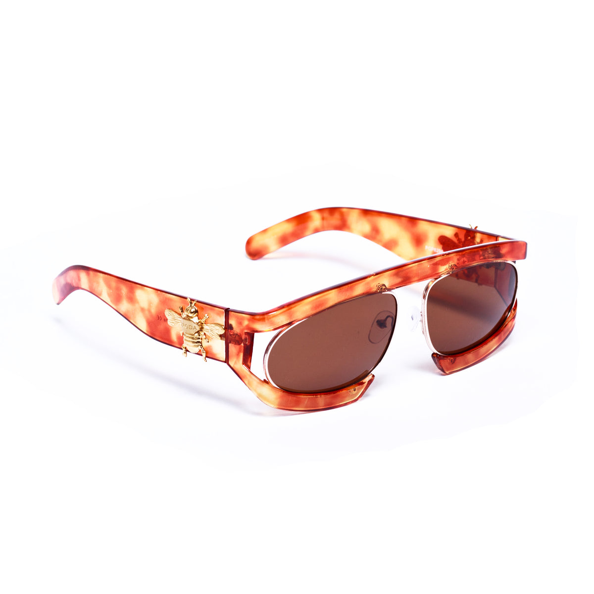 NEW POCONOS in Fire Blue  Eyewear Sunglasses Collection, Tnemnroda man- NRODA