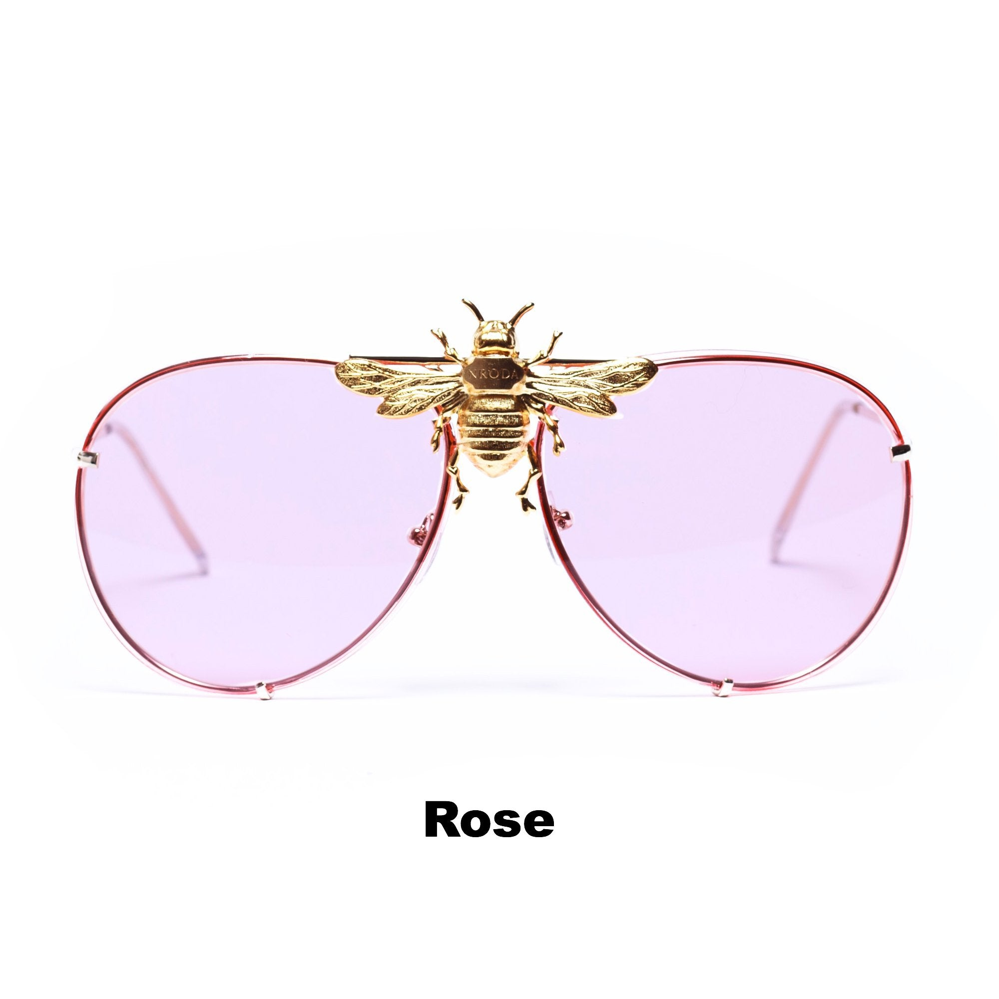 db065f8e42258 I'll Be Rich Forever Bee Sunglasses: Primary Edition | NRODA