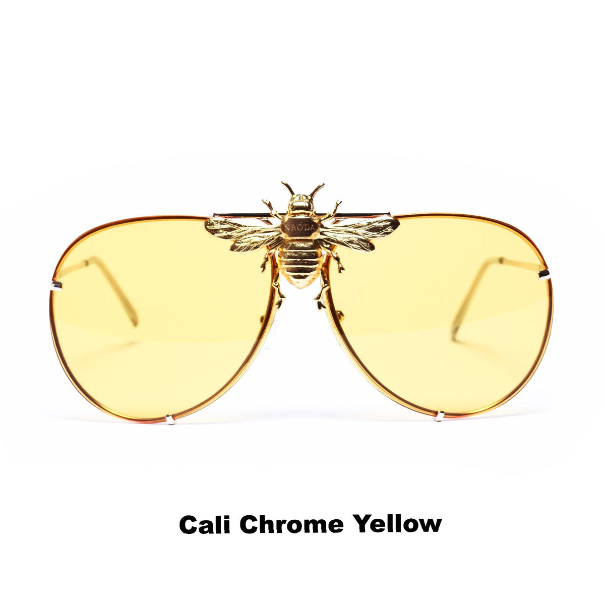 I'll Be Rich Forever Bee Sunglasses: Primary Edition  SUNNIES + OPTICS Sunglasses Collection- NRODA