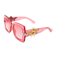 More than enough Cherry Red SUNNIES + OPTICS Sunglasses Collection- NRODA