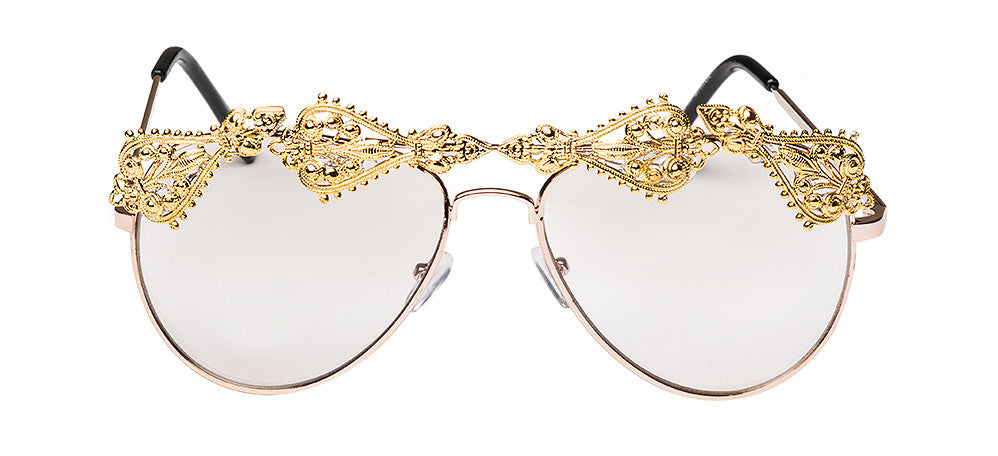 Goal Digger Sunnies IN CRYSTAL LENS