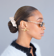 Nroda Bee Earrings  EARRINGS TNEMNRODAaccessories- NRODA