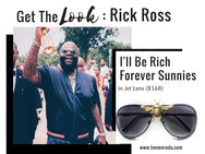 I'll Be Rich Forever Bee Sunglasses [Limited Black Out Edition]