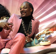 SNOOP DOGG IN THE I'LL BE RICH FOREVER BEE SUNGLASSES: HOLOGRAM CRYSTAL  SUNNIES + OPTICS Sunglasses Collection- NRODA