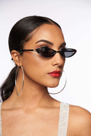 MATRIX CAT EYE in Chrome  SUNNIES + OPTICS Sunglasses Collection, Tnemnroda man- NRODA