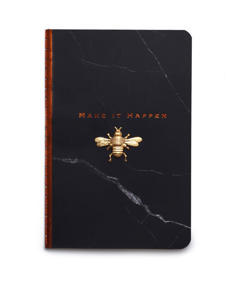 "Nroda Bee Gratitude Journal - ""Make It Happen""   NRODA- NRODA"