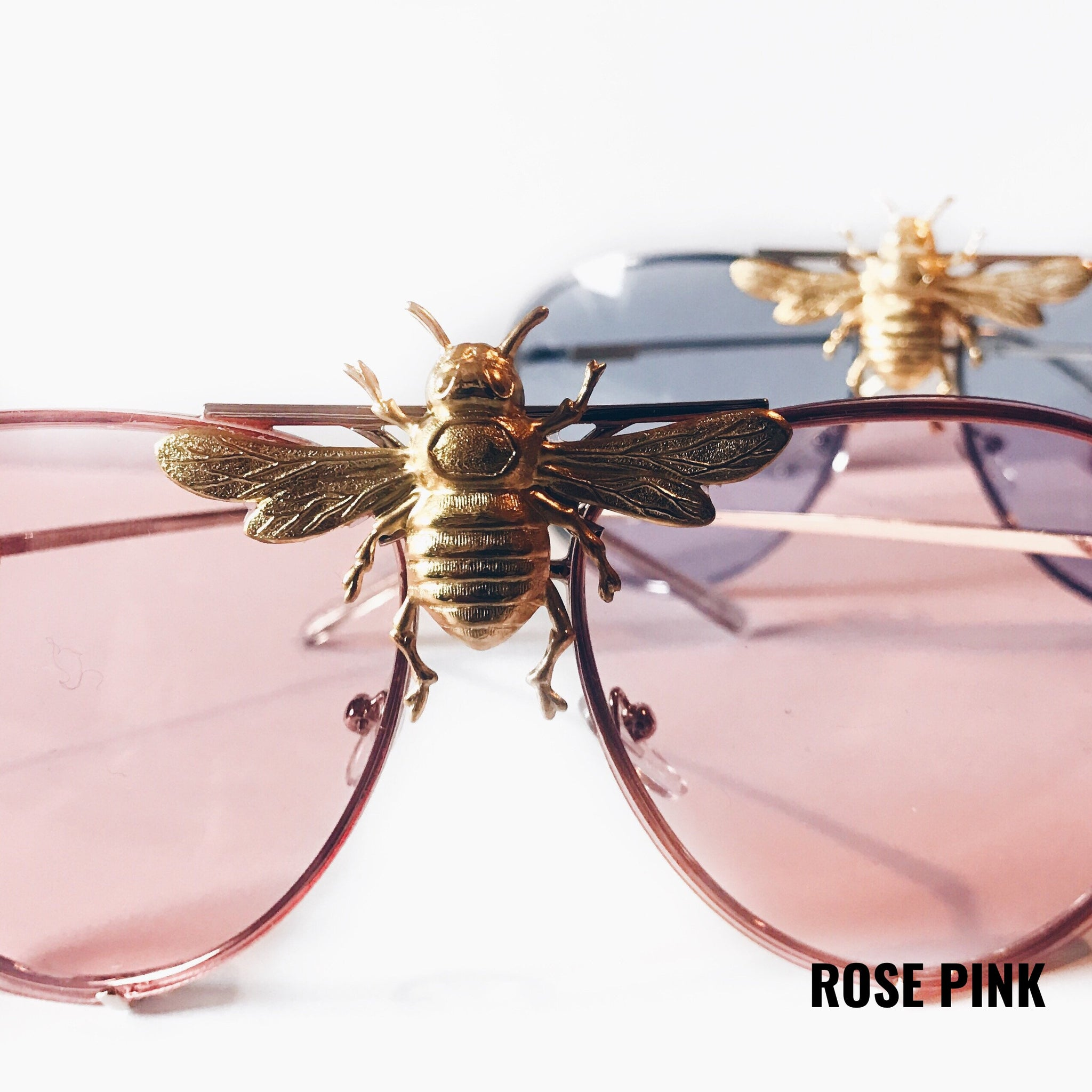 I\u0027ll Be Rich Forever Bee Sunglasses Primary Edition