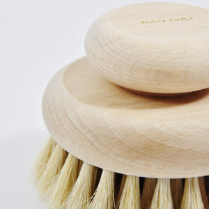 Big beech wood body brush