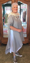 Load image into Gallery viewer, Two piece Linen Tunic/Dress - Coffee