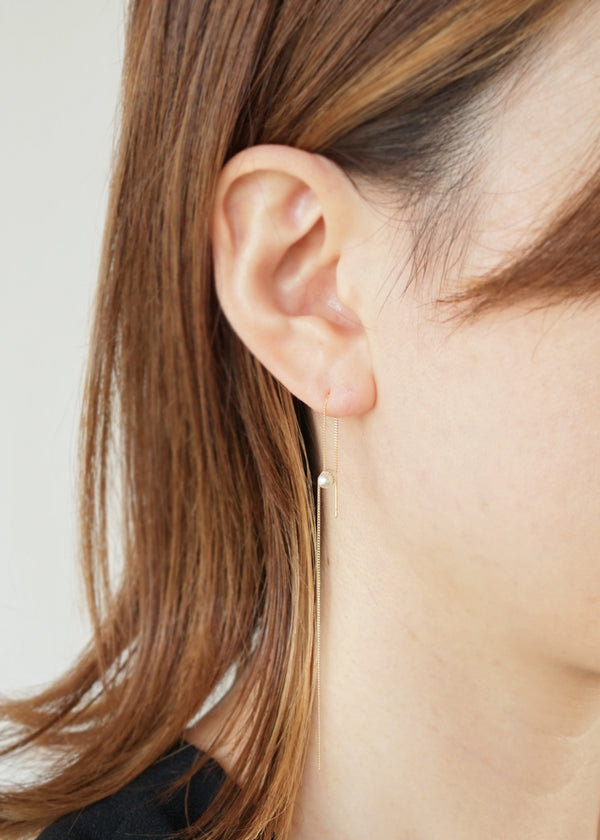 ヤヌカ[ TWIN PEARL AMERICAN EARRINGS ]ピアス