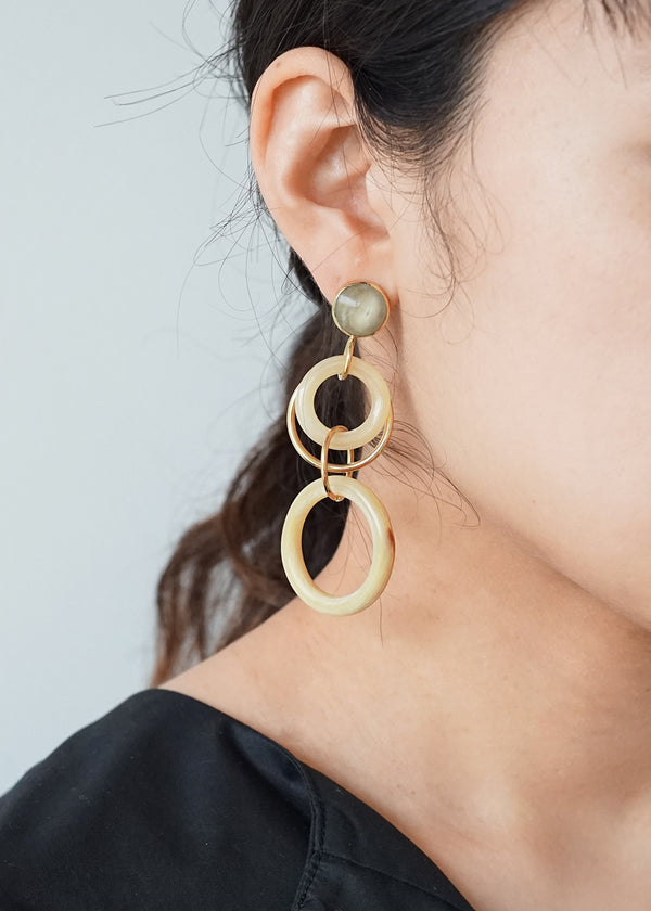 ソコ[Nayo Statement Earrings]ピアス