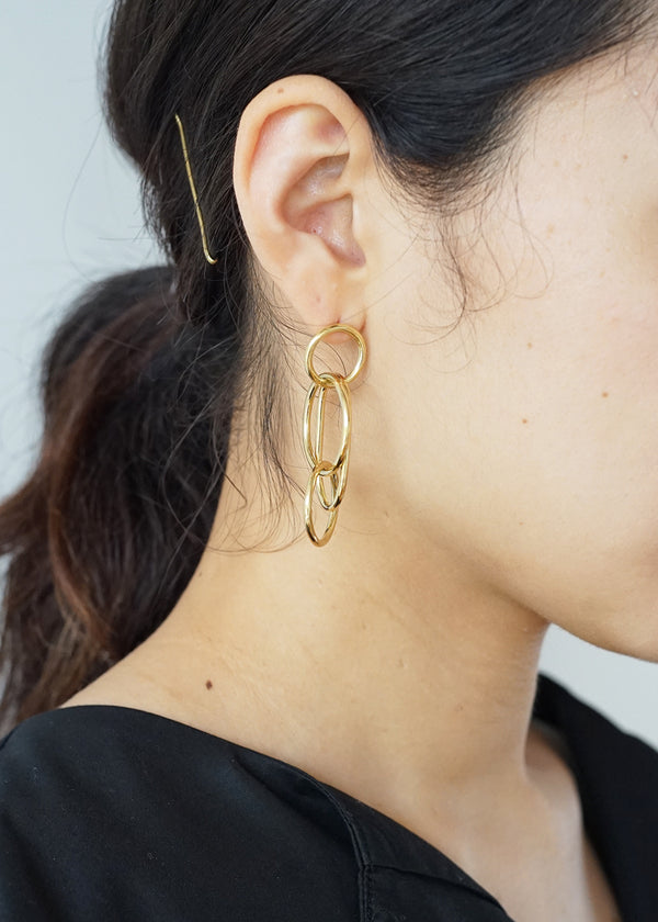 ソコ[Quad Ring Earrings]ピアス