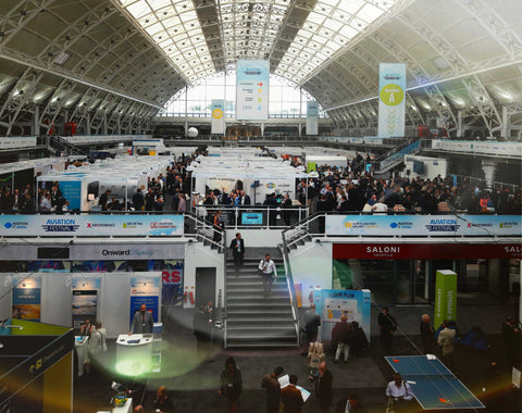 Aviation Festival London 2017 main hall