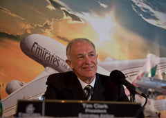 Sir Tim Clarke - Emirates president
