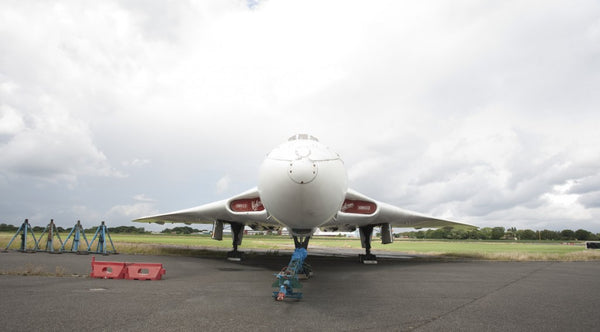 Avro Vulcan XM603 Front On Woodford Aerodrome