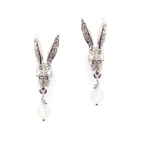 Snowshoe Hare Earrings