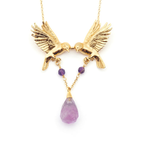 Double Bird Necklace