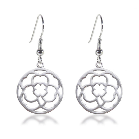 Clover Medallion Earrings