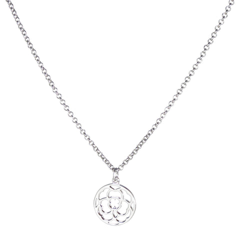 Clover Medallion Necklace